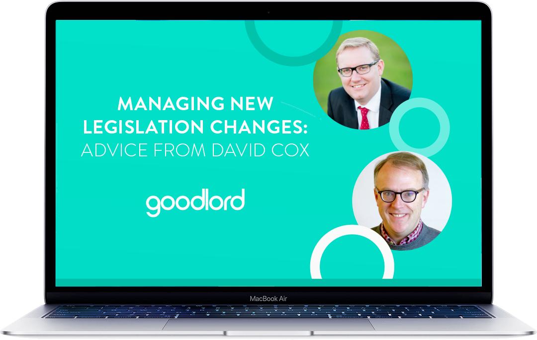 Managing new legislation changes