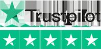 Trustpilot rating logo